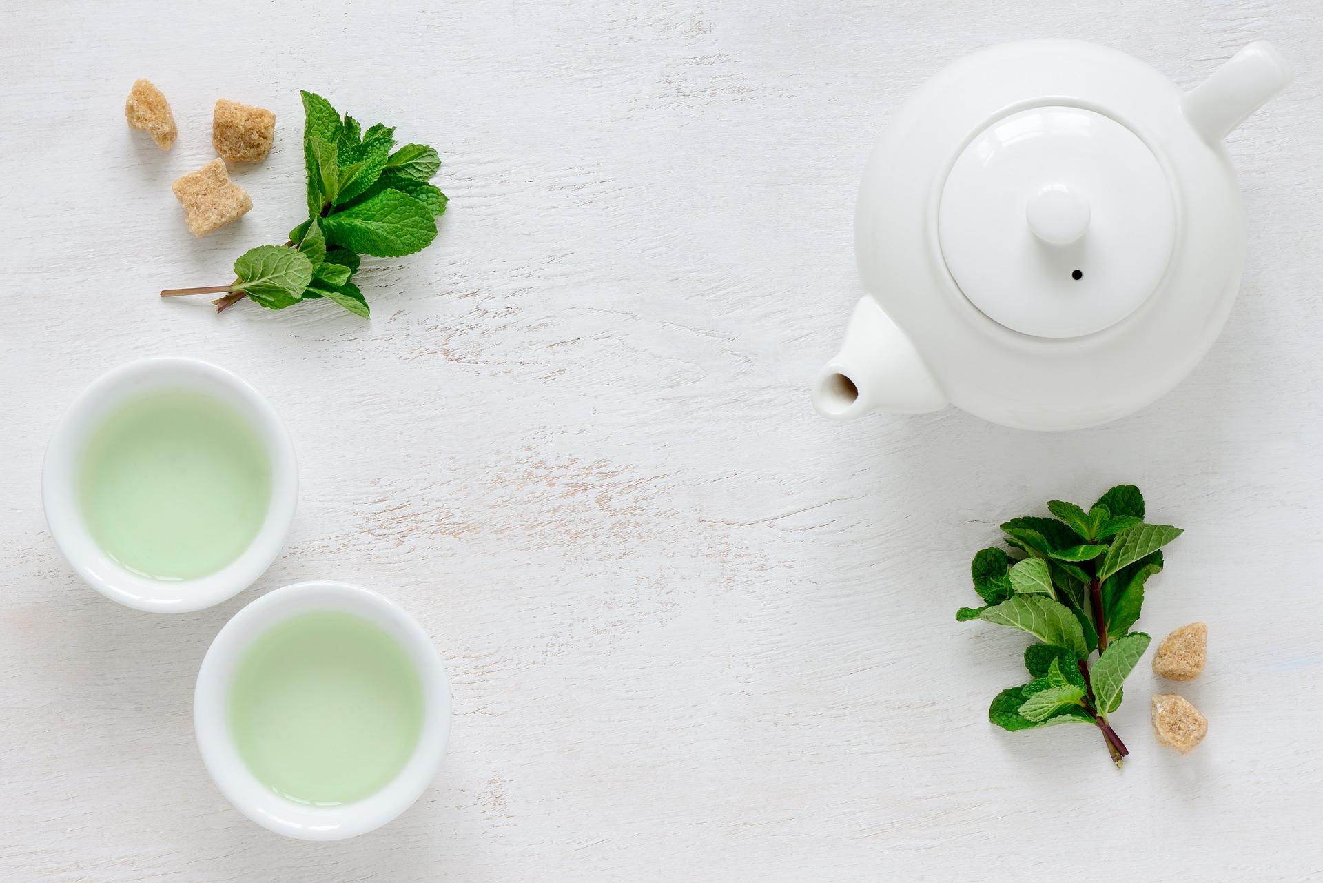 Grøn te – sundhedsmæssige egenskaber