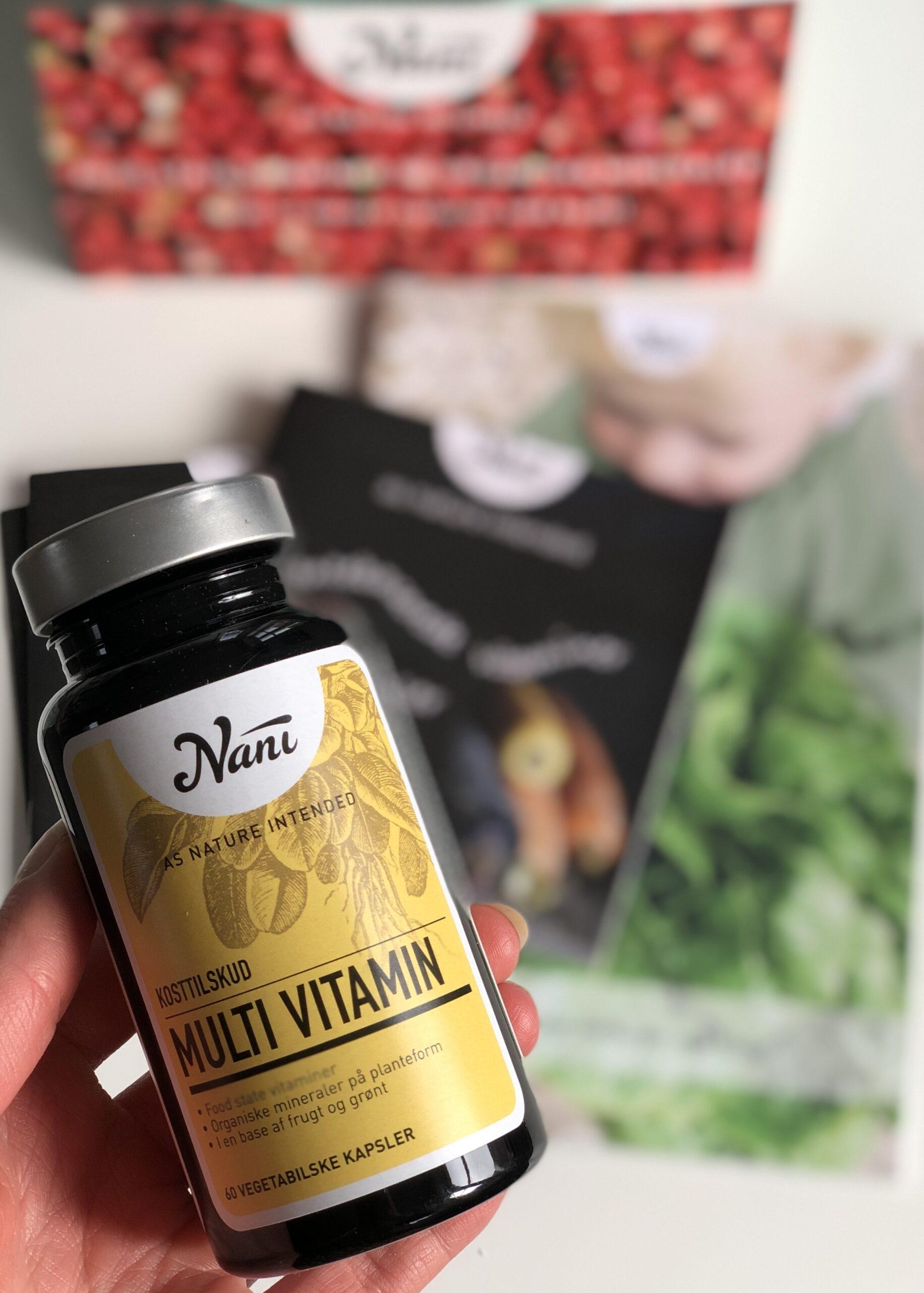 Kosttilskud – Multi vitamin