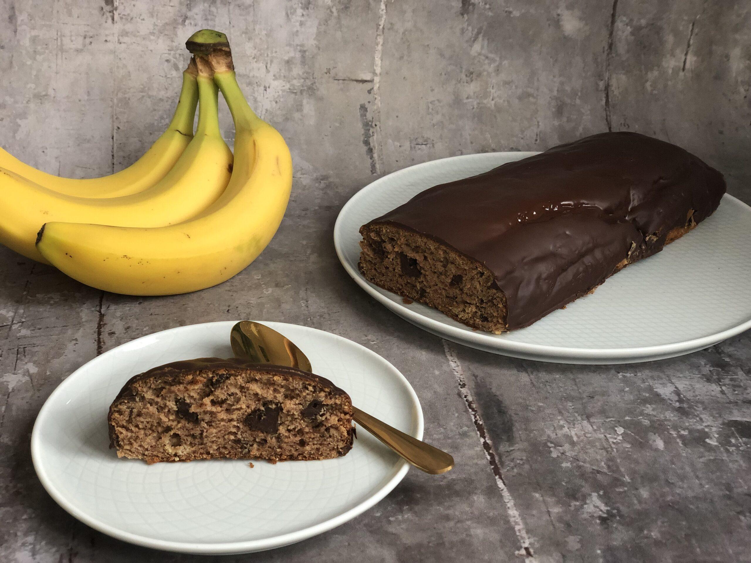 Lærke's sunde banankage